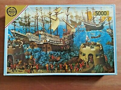 £10.99 • Buy Falcon Supreme Jigsaw Puzzle  Embarkation Of Henry VIII  5000 PIeces