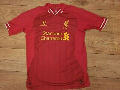 £9.99 • Buy Liverpool Standard Chartered Warrior Home Red Shirt 2014/15 XL
