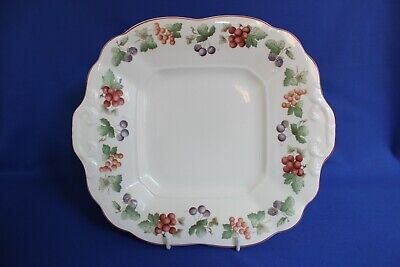 £14.99 • Buy   Wedgwood ( Provence Pattern ) Queens Ware Tab Handled Cake Plate C1990