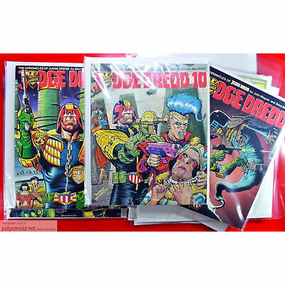 £27.50 • Buy Titan Year Book COMIC Bags Only Sleeves For 2000AD Comics Size2 X 100