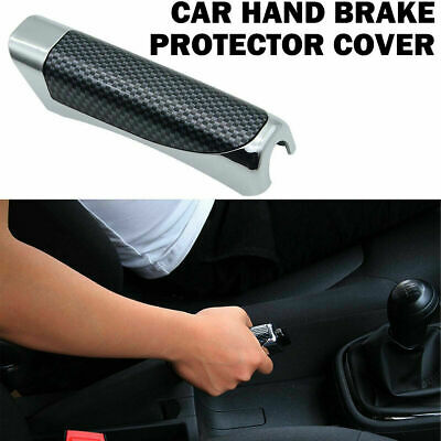 AU5.04 • Buy Carbon Fiber Style In-Car Hand Brake Protector Decoration Cover Auto Accessories