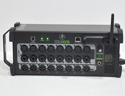£674.73 • Buy Mackie DL16S 16 Channel Wireless Digital Live Sound Mixer Working Free Shipping