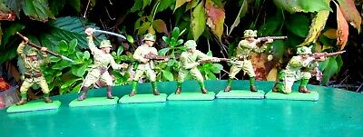 £9.50 • Buy Britains Deetail Japanese Soldiers -  Complete Set Of 6