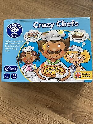 £1.99 • Buy Crazy Chefs Game Orchard Toys