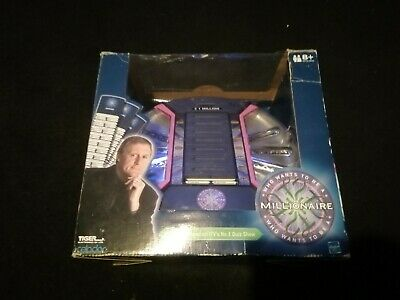 £10 • Buy Vintage Who Wants To Be A Millionaire Electronic Game - 2000 Edition