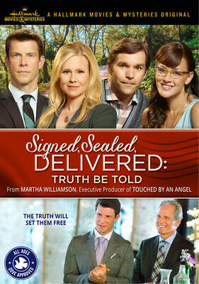 AU13.98 • Buy Signed, Sealed, Delivered: Truth Be Told (DVD, 2015) Eric Mabius-Kristen Booth