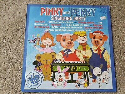 £1 • Buy Pinky And Perky - Singalong Party 1974 Vinyl LP Album Record