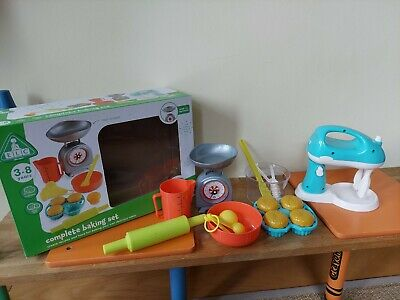£9.99 • Buy ELC Kitchen Role Play Complete Baking Set Age 3-8 - Excellent Condition
