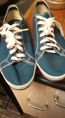 £4.50 • Buy FRED PERRY Blue Canvas Deck Shoes Size 7 . NEW