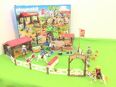 £5.51 • Buy Playmobil Country Large Horse Riding School/pony Farm 70166 Boxed