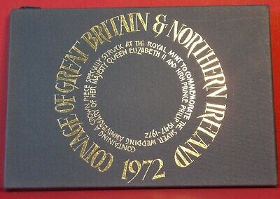 £15 • Buy  1972 Proof 6 Coin Set Royal Mint Coinage Of Great Britain And Northern Ireland
