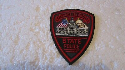 £4.95 • Buy Vintage Obsolete Police Badge For The State Of Rhode Island Usa