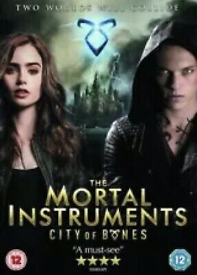 £1.70 • Buy The Mortal Instruments: City Of Bones DVD (2013) Lily Collins❗️😍🛍 Spikes Store