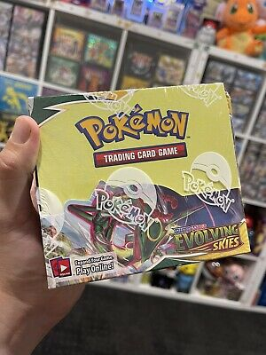 AU217.50 • Buy Evolving Skies Booster Box Pokemon Tcg Mint Brand New And Sealed Oz Stock
