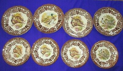 £17 • Buy ROYAL WORCESTER PALISSY GAME SERIES 8 PIECES  4 Side Plates 4 Saucers