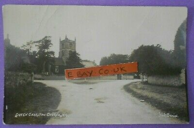 £6.50 • Buy YORK SERIES RP Postcard POSTED 1921 THE CHURCH QUEEN CHARLTON SOMERSET