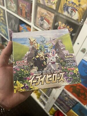 AU132.50 • Buy Eevee Heroes Japanese Pokemon Cards Booster Box S6A Sealed Oz Stock 1st Ed Fast