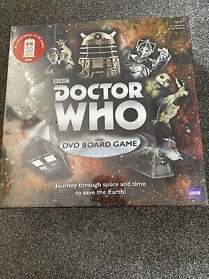 £4.50 • Buy Doctor Who DVD Board Game 50th Anniversary Brand New, Sealed