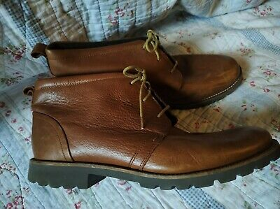 £24.99 • Buy Rockport Brown Leather Boots Chukka Dessert  Size 9uk