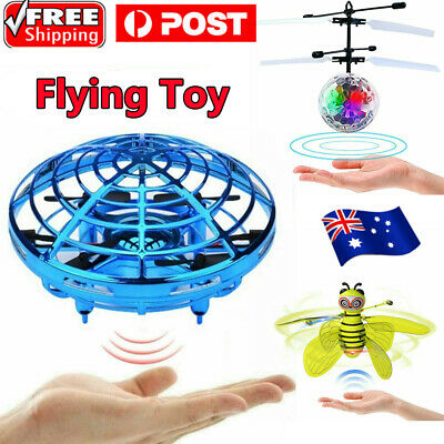 AU19.99 • Buy Mini Drone Quadcopter Induction UFO Flying Toy Hand Controlled For Kids Gifts AU