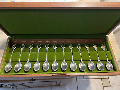 """£250 • Buy John Pinches Limited Edition """"The Royal Horticultural Society Flower Spoon"""""""