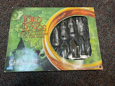 £7.25 • Buy Lord Of The Rings Chess Set Fellowship Of The Ring Game Parker Brothers Complete
