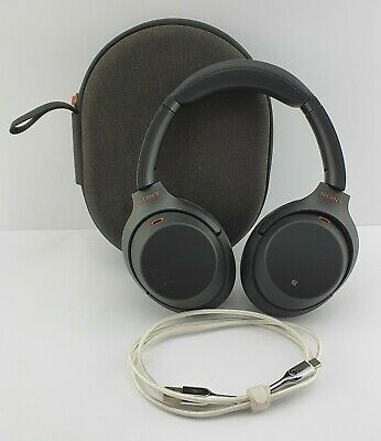 AU199 • Buy Sony WH-1000XM3 Wireless Noise Cancelling Over-Ear Headphones