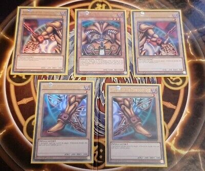 £0.99 • Buy Exodia The Forbidden One Full Set Of All 5 Cards YuGiOh YGLD Ultra Rare
