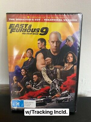 AU15 • Buy Fast And Furious 9 New Sealed In Plastic FREE POSTAGE W/Tracking Incld.