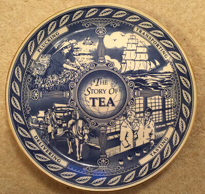 """£10.99 • Buy 'The Story Of Tea' Decorative 10"""" Plate By Masons For Ringtons"""