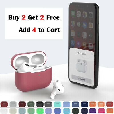 AU9.99 • Buy For AirPods Pro AirPods 3 Case Cover Silicone Skin Ultra Slim  AirPod 3 4 Case