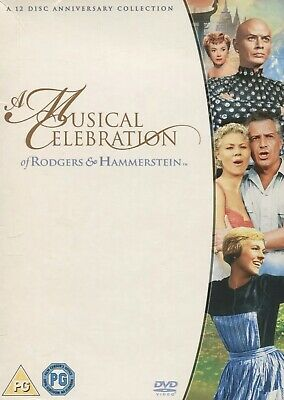 £7.90 • Buy A Musical Celebration Of Rodgers And Hammerstein 12-Disc DVD Box Set ❗️😍🛍