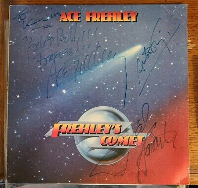 £254.12 • Buy Frehley's Comet ACE FREHLEY ANTON FIG TOD HOWARTH SIGNED LP VG/VG SUPER RARE