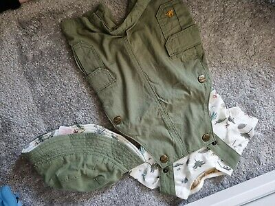 £0.99 • Buy Baby Romper, With T-shirt And Hat. 3-6 Months. BNWT