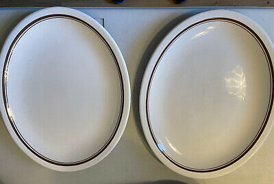 £8 • Buy 2 X Dudson Duraline 31 X 26cm Oval Serving Plate
