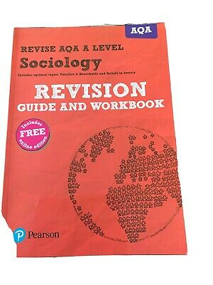 £6.75 • Buy Revise AQA A Level Sociology Revision Guide And Workbook
