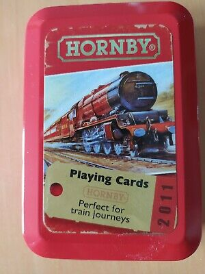 £6.49 • Buy Hornby Playing Cards In Tin - New/sealed/pristine - Free P&p!!