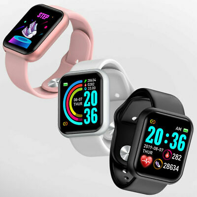 AU38.69 • Buy Smart Watch Heart Rate Blood Pressure Fitness Tracker Pedometer IOS & Android
