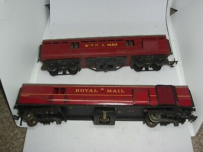 £9.95 • Buy Oo Scale Triang And Hornby Dublo Royal Mail Coaches X 2