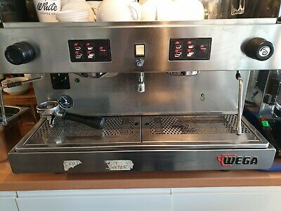 £800 • Buy Wega Commercial Coffee Machine - 2 Group And Grinder