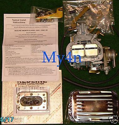 $ CDN380.60 • Buy Mitsubishi Pickup Redline Carburetor Kit Weber