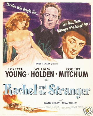 $ CDN7.34 • Buy Rachel & The Stranger Loretta Young Movie Poster Print