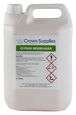 Heavy Duty Citrus Fragranced Degreaser Concentrate 5lt • 16.49£