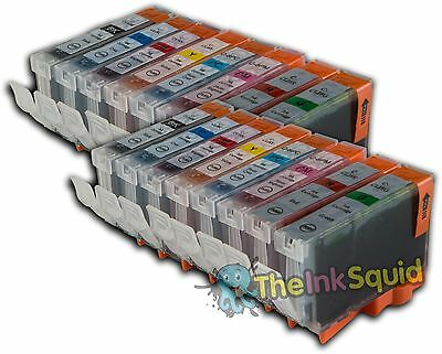 £20.95 • Buy 16 X Chipped Compatible CLI-8 Ink Cartridges For Canon Pixma PRO 9000 Printer