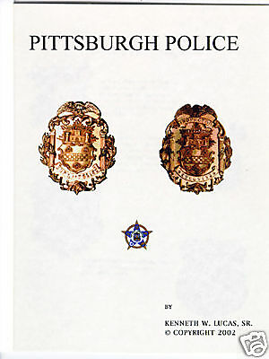£10.86 • Buy PITTSBURGH POLICE Chronology Of Badges By Lucas