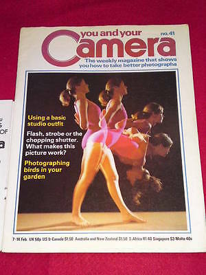 YOU AND YOUR CAMERA #41 - PHOTOGRAPHING BIRDS - Feb 7 1980 • 4.99£