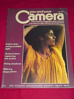 YOU AND YOUR CAMERA #37 - INDOOR GIRLS - Jan  17 1980 • 4.99£