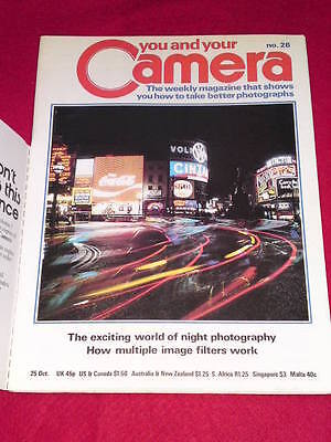YOU AND YOUR CAMERA #26 - NIGHT PHOTOGRSPHY - Oct 25 1979 • 4.99£