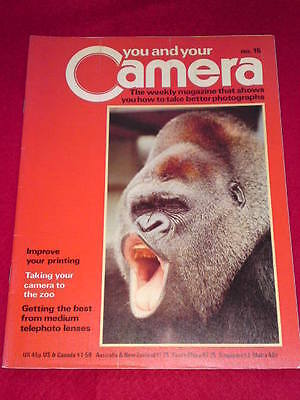 You And Your Camera #15 - Taking Your Camera To The Zoo • 4.99£