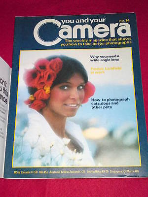 You And Your Camera #14 - Patrick Lichfield At Work • 4.99£